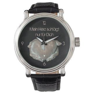 """mein Herz"" by mysteryella Armbanduhr"
