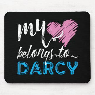 Mein [Herz] gehört Darcy - Jane Austen Mousepads