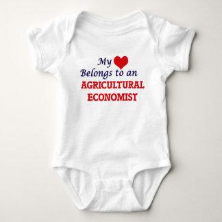 Mein Herz gehört einem Agrarwissenschaftler Baby Strampler