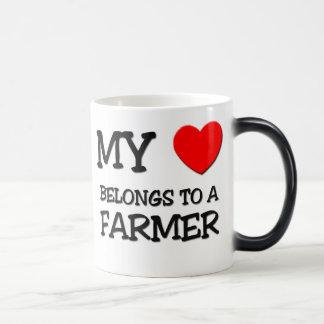 Mein Herz gehört einem BAUERN Kaffeehaferl