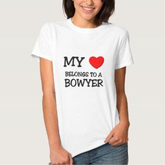 Mein Herz gehört einem BOWYER Shirt