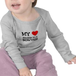 Mein Herz gehört einem BOWYER Shirts