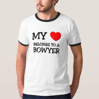 Mein Herz gehört einem BOWYER Tshirts