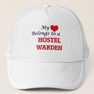 Mein Herz gehört einem Herberges-Wärter Truckerkappe