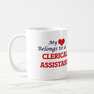 Mein Herz gehört einem kanzleimäßigen Assistenten Kaffeetasse