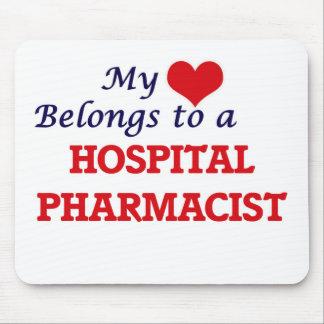 Mein Herz gehört einem Krankenhaus-Apotheker Mauspads