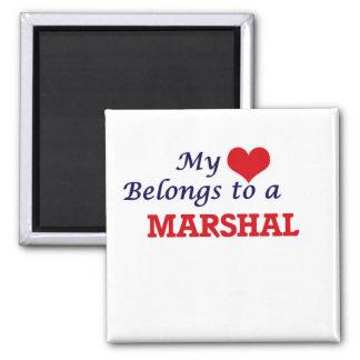Mein Herz gehört einem Marschall Quadratischer Magnet
