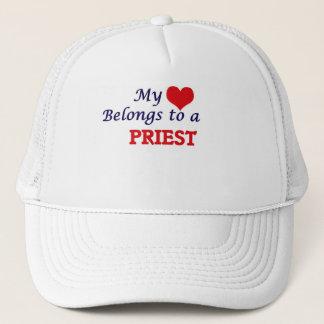 Mein Herz gehört einem Priester Truckerkappe