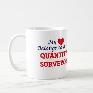 Mein Herz gehört einem Quantitäts-Feldmesser Kaffeetasse