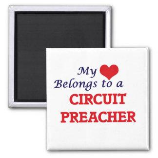 Mein Herz gehört einem Stromkreis-Prediger Quadratischer Magnet