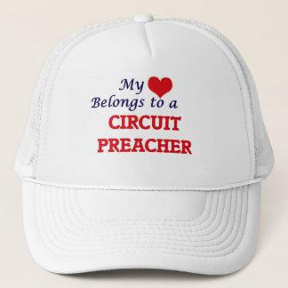 Mein Herz gehört einem Stromkreis-Prediger Truckerkappe