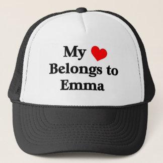 Mein Herz gehört Emma Truckerkappe