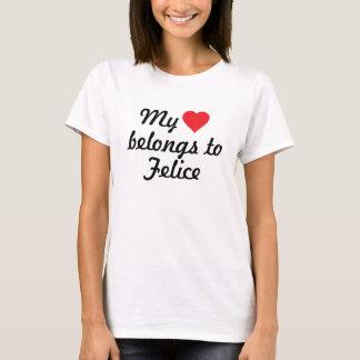 Mein Herz gehört Felice T-Shirt