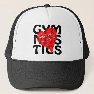 Mein Herz gehört Gymnastik Truckerkappe