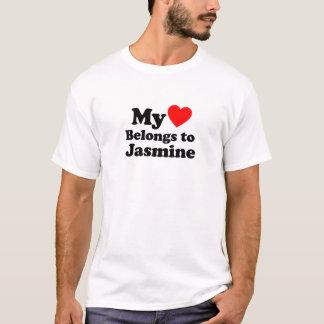 Mein Herz gehört Jasmin T-Shirt