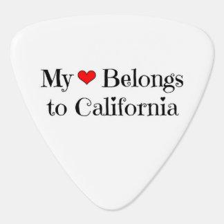 Mein Herz gehört Kalifornien Plektron