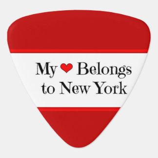 Mein Herz gehört nach New York Plektron