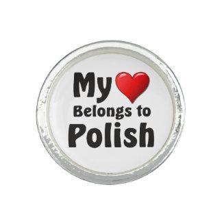 Mein Herz gehört Polnischem Ring