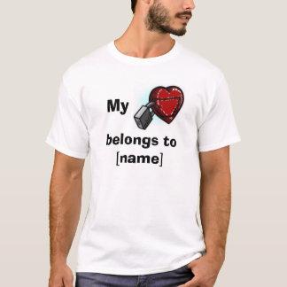 Mein Herz gehört… T-Shirt