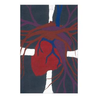 Mein Herz und Soul Briefpapier