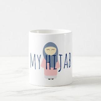 mein hijab Kaffee-Tassen-Moslemmädchen Kaffeetasse