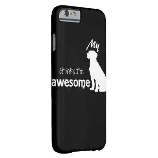 MEIN HUND DENKT… iPhone 6/6s Telefon-Kasten Barely There iPhone 6 Hülle