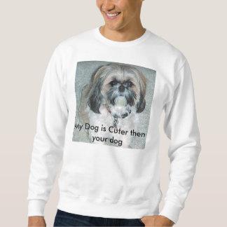 Mein Hund ist dann Ihr besonders angefertigter Sweatshirt