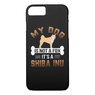 Mein Hund ist nicht ein Fox, den es ein Shiba Inu iPhone 8/7 Hülle