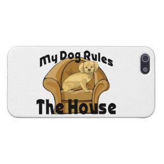 Mein Hund ordnet das Haus an iPhone 5 Etui