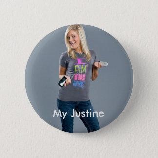 Mein IJustine Runder Button 5,7 Cm