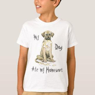 Mein irischer Wolfhound aß meine Hausaufgaben T-Shirt