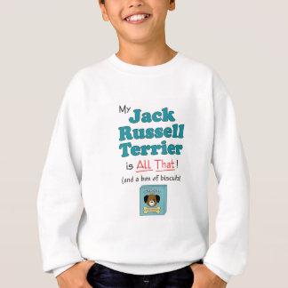 Mein Jack-Russell-Terrier ist aller das! Sweatshirt