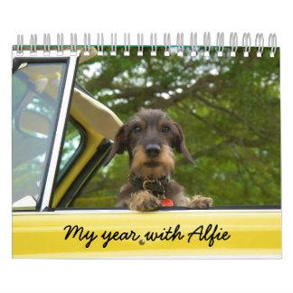 Mein Jahr mit Alfie Kalender