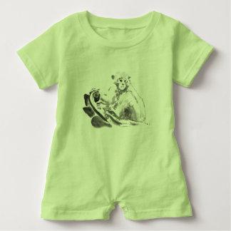 Mein kleiner Affe-Jahr-Baby-Spielanzug Baby Strampler