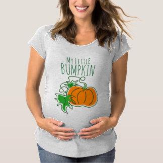 Mein kleiner TÖLPEL Halloween-Mutterschafts-T - Schwangerschafts T-Shirt