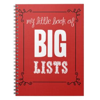 Mein kleines Buch der großen Listen