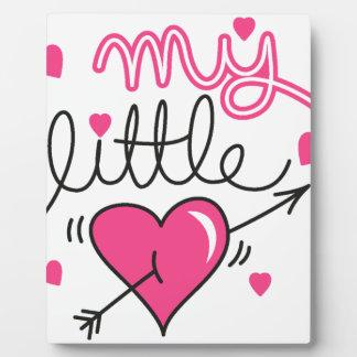 Mein kleines, Herz, Kind, Liebe Fotoplatte