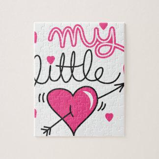 Mein kleines, Herz, Kind, Liebe Puzzle