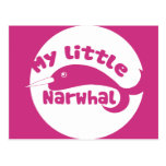 Mein kleines Narwhal Postkarte