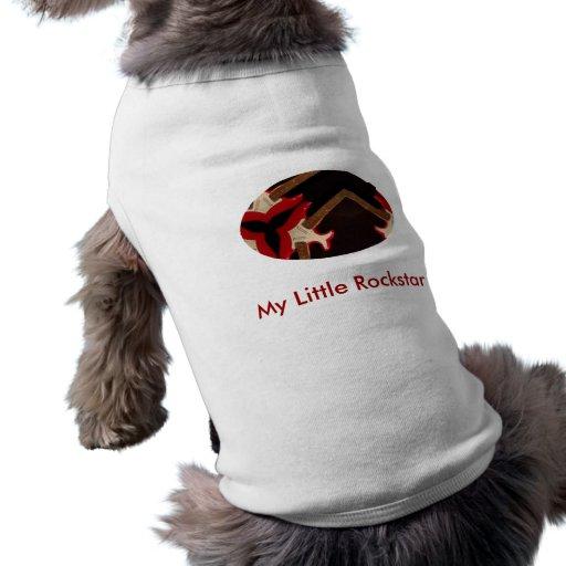 Mein kleines rockstar hund t shirts