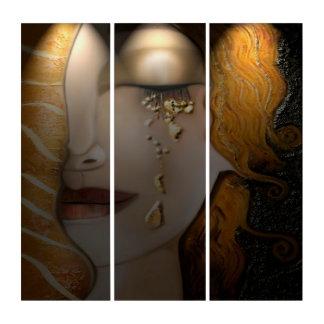 Mein Klimt Serie: Gold Triptychon