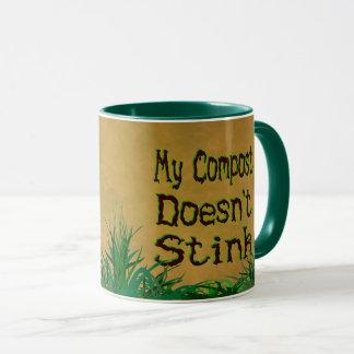 Mein Kompost stinkt nicht lustige Gärtner-Tasse Tasse