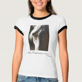 Mein Königreich für ein Pferd…, W Shakespeare T-Shirt