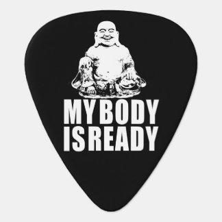 Mein Körper ist bereiter Buddha Plektron