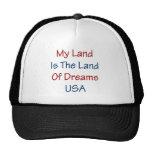 Mein Land ist das Land der Träume USA Kultkappe