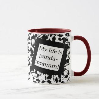 Mein Leben ist Panda-monium Tasse