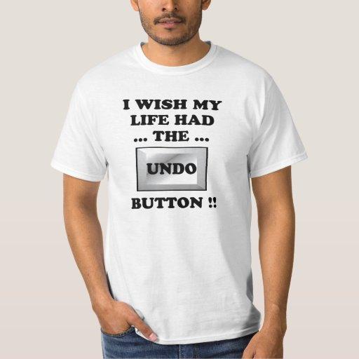 Mein Leben mit annulieren Knopf T-Shirt