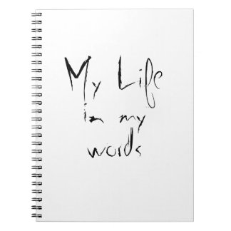 Mein Leben Notizblock