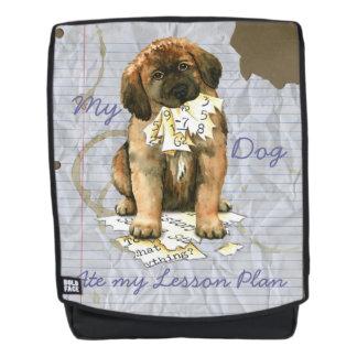 Mein Leonberger aß meinen Unterrichtsplan Rucksack