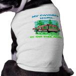 MEIN LIEBLINGSZuhause POP-OBEN CAMPER ~ REISE-HAUS Ärmelfreies Hunde-Shirt